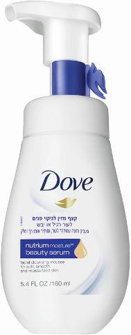 קצף מזין לניקוי פנים לעור רגיל או יבש