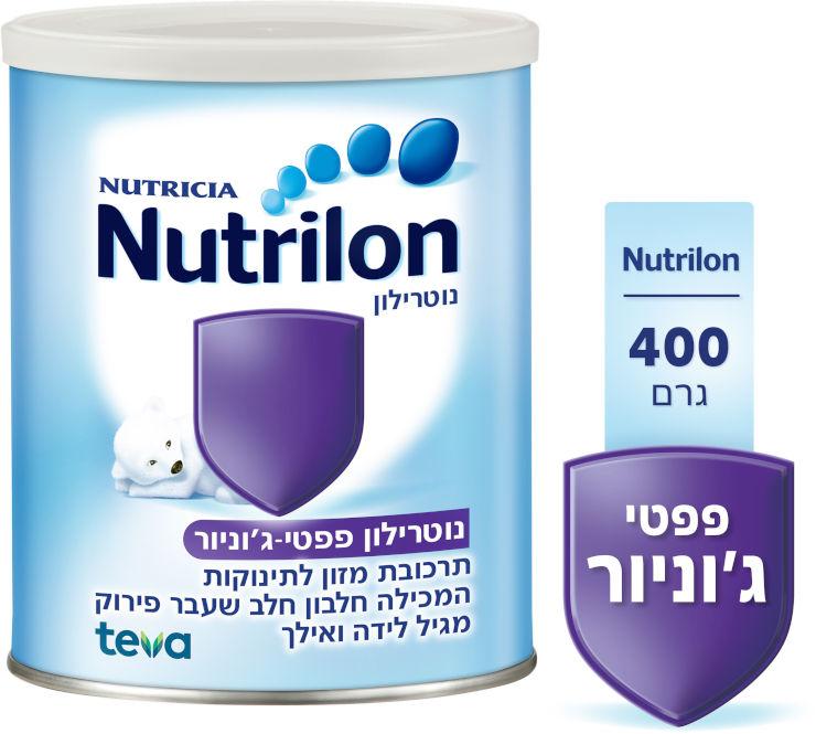 פפטי ג'וניור - תרכובת מזון לתינוקות המכילה חלבון חלב שעבר פירוק