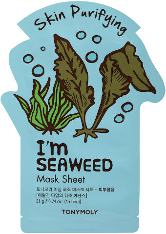 I AM מסיכת בד - אצות