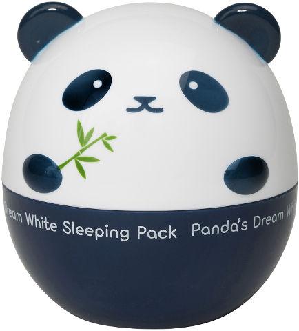 PANDA'S DREAM מסכת טיפוח ללילה מבהירה