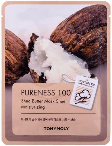 PURENESS 100 מסכת כותנה - חמאת שיאה