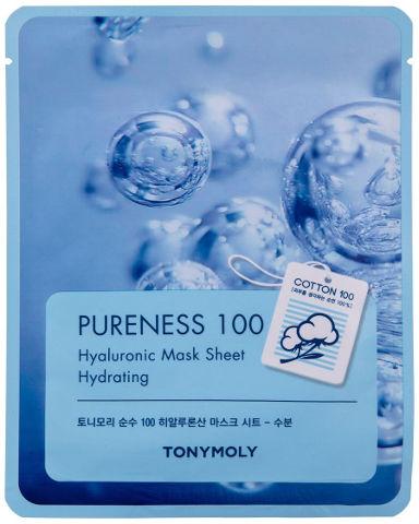 PURENESS 100 מסכת כותנה - חומצה היאלורונית