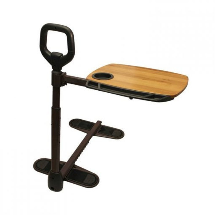 מקל אחיזה לעמידה עם שולחן מגש Assist A Tray Stander