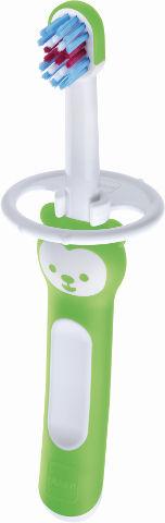 מברשת שיניים לתינוקות 6+ חודשים ירוק