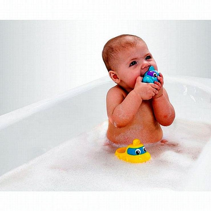 צוללת ודביבון מוזיקליים לאמבטיה