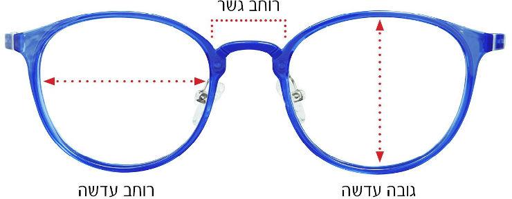 משקפי שמש, דגם 4165, צבע 601/8G מידה 55