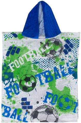 מגבת קפוצ'ון לילדים כדורגל