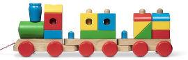 melissa and doug רכבת צבעונית ענקית