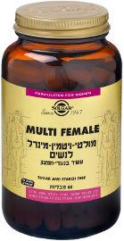סולגאר מולטי-ויטמין-מינרל לנשים