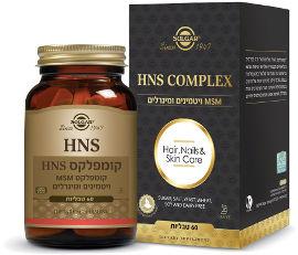 סולגאר קומפלקס HNS- קומפלקס MSM ויטמינים ומינרלים