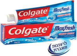 קולגייט מקס פרש משחת שיניים