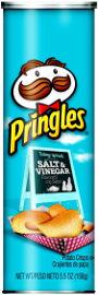 פרינגלס פרינגלס ביג בטעם חומץ ומלח