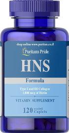 "PURITAN'S PRIDE פורמולת HNS - ביוטין 1000 מק""ג"