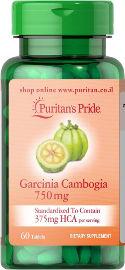 "Puritan's Pride גרסיניה קמבוג'יה 750 מ""ג"