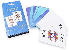 "NIK NAK משחק קלפים ""מלחמת חשבון"""