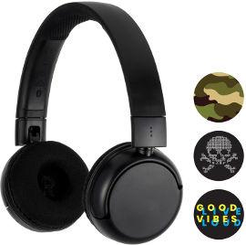 BuddyPhones אוזניות אלחוטיות עם הגבלת עוצמה לבני נוער - שחור POP