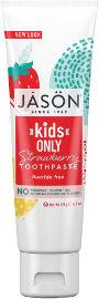 ג'ייסון משחת שיניים טבעית תות לילדים
