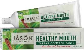 ג'ייסון משחת שיניים עץ התה