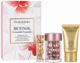 Elizabeth Arden מארז קפסולות סרמייד ורטינול + קפסולת סרמייד לעור הפנים + קרם לילה