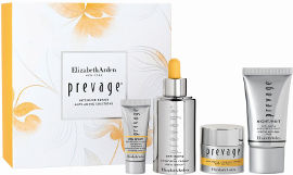 Elizabeth Arden PREVAGE מארז סרום + קרם יום + קרם למניעת נזקי חמצון וזיהומים + קרם לילה