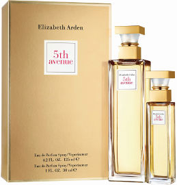 Elizabeth Arden 5th avenue סט א.ד.פ + א.ד.פ לאשה