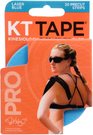 KT TAPE רצועות פלסטר חתוך כחול