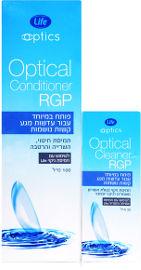 Life לייף ערכה לטיפול בעדשות קשות OPTICAL RGP