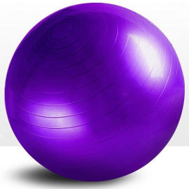 ATX FITNESS כדור פיזיו סגול + משאבה