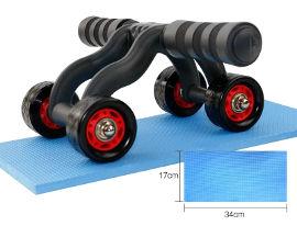 ATX FITNESS גלגל בטן משולב PUSH-UP עם 4 גלגלים