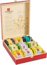 ויסוצקי תיבת תה מהגוני