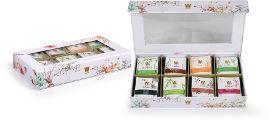 ויסוצקי תיבת תה ריג'יד לבנה TEA DREAMS BOX