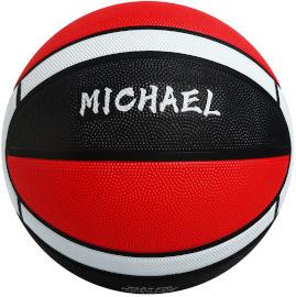 YKI כדורסל מס 5 בצבע אדום שחור מייקל
