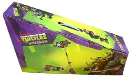 צבי הנינג'ה קורקינט 3 גלגלים צבי הנינג'ה