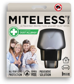 MITELESS MITELESS® HOME -לחיסול קרדית האבק