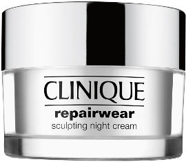 CLINIQUE REPAIRWEAR SCULPTING NIGHT קרם פנים וצוואר