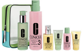 CLINIQUE סט שלושת השלבים סוג עור 3-4