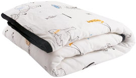 ndoto שמיכה עם מילוי לילדים/נוער לבן מתחת ל -0