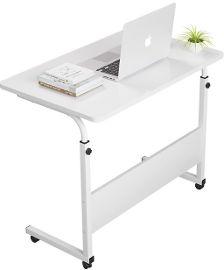 MY CASA שולחן לפטופ מתכוונן צבע לבן