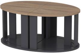 Tudo Design שולחן סלון נפתח ל 4 שולחנות ANTELLA