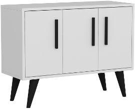 Tudo Design שידת אחסון קומודה 3 דלתות דגם EMI