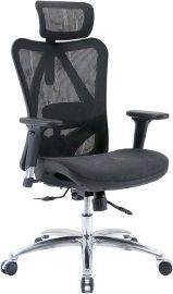 Sihoo כסא מנהלים  ארגונומי דגם - Executive Lux Grey