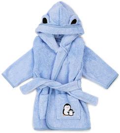 Little Penguin חלוק רחצה לילדים - כחול