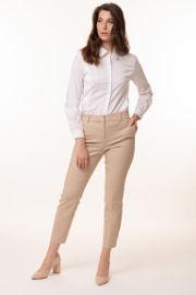 ביאנקה חולצת טוניקה לבנה מכופתרת מבד דוחה נוזלים ונושם  Dalia