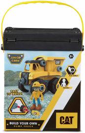 CAT סט בניית משאית עפר