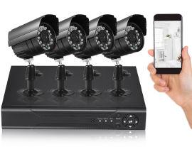 גרנדטק מערכת אבטחה DVR AHD עם 4 מצלמות