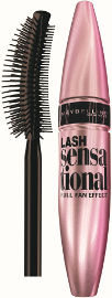 MAYBELLINE LASH SENSATIONAL מסקרה שחור - מאטליק