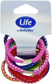 Life BaByliss גומיות צבעוניות