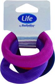 Life BaByliss גומיות ספוג צבעוני