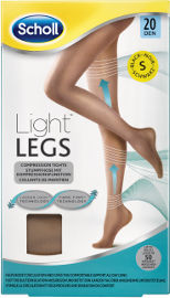 שול גרביונים 20 דנייר LIGHT LEGS צבע גוף S
