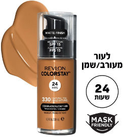 REVLON COLORSTAY FOUNDATION מייק אפ לעור מעורב/שמן